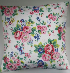 "Cushion Cover in Cath Kidston Large Spray Flowers 14"" 16"" 18"" 20"""